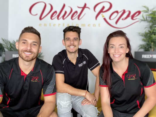 Feature Image 533x400 - Velvet Rope Entertainment Has Teamed Up With The REDTIE Band