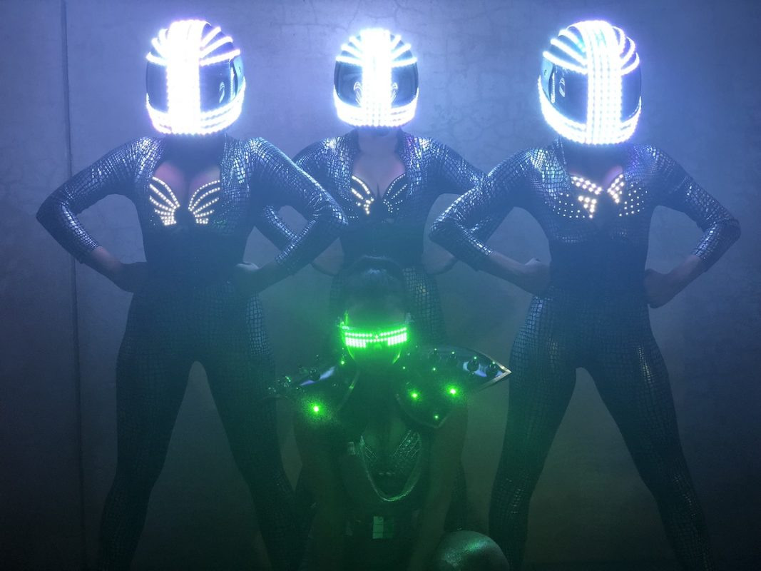 LED Helmets 1067x800 - Velvet Rope's Latest and Greatest Nightlife Entertainment
