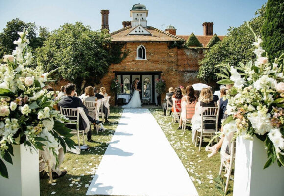 woodhall manor 580x400 - Great Ideas For An End Of Year Summer Wedding