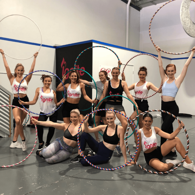 hula hooping online course performers 1 800x800 - Ignite Online | Hula Hooping | Sales Page